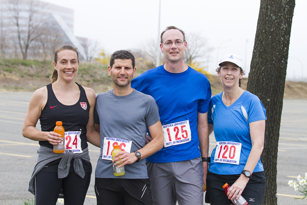 The Faculty Team at the 2013 PJF Marathon