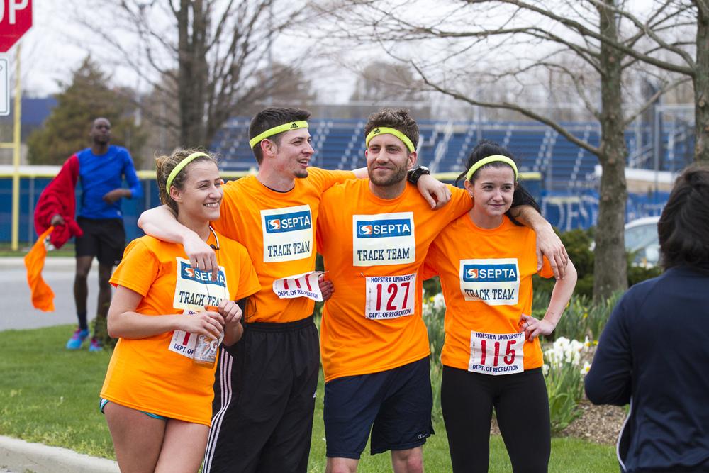 A Student Team at the 2013 PJF Marathon