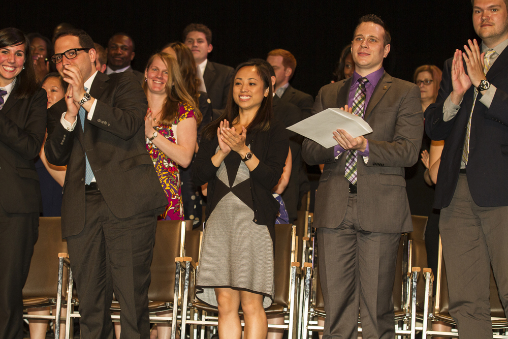 A Standing Ovation at the Graduation Award Ceremony