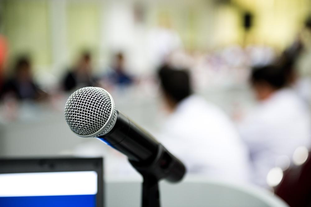 Stock Lecture Presentation Event
