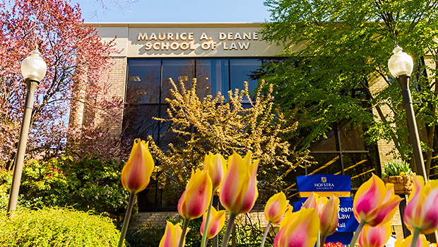 Hofstra Law during Spring of 2013.