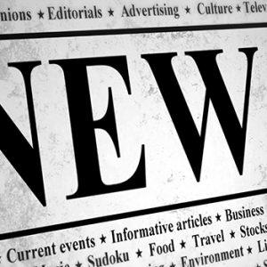 Newsprint.