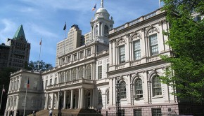 Photo of City Hall in New York