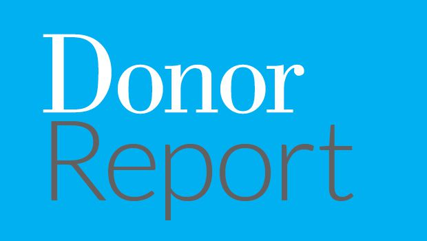 Photo of donor report