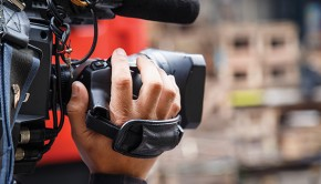 Photo of a Television Camera