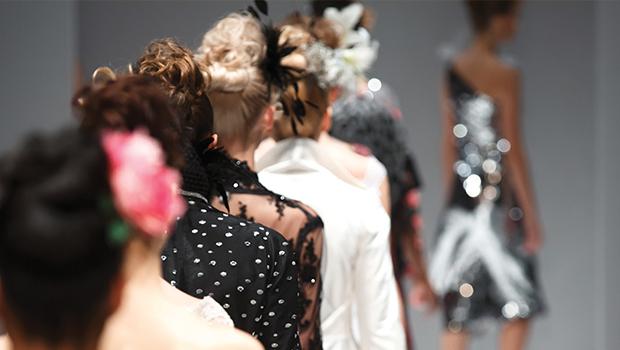 Fashion Models Walking the Runway