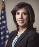 Headshot of Madeline Singas, Nassau County District Attorney