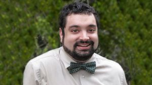 Photo of Hofstra Law alumnus ChrisCzerwonka '13, a senior fellow at the Gitenstein Institute for Health Law and Policy, an adjunct professor for Hofstra Law's online Master's in Health Law and Policy programs, and an advocate of LGBT and disability rights