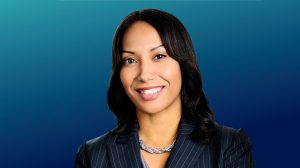 Photo of Hofstra Law alumna Mecca Sykes-Santana '00, senior vice president of diversity, inclusion, and community engagement for the Westchester Medical Center Health Network