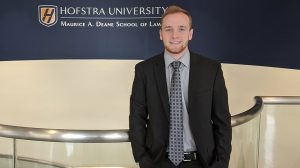 Headshot photo of Hofstra Law student Brian Primm, Class of 2022